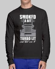 Truck Driver Long Sleeve Tee lifestyle-unisex-longsleeve-front-1