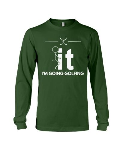 Funny Golfing Shirt - I'm Going Golfing