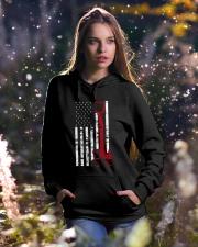 Operating Engineer Hooded Sweatshirt lifestyle-holiday-hoodie-front-5