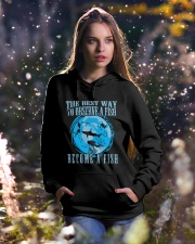 Scuba Diving Hooded Sweatshirt lifestyle-holiday-hoodie-front-5