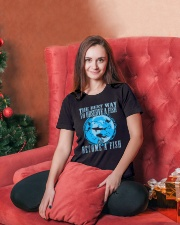 Scuba Diving Ladies T-Shirt lifestyle-holiday-womenscrewneck-front-2