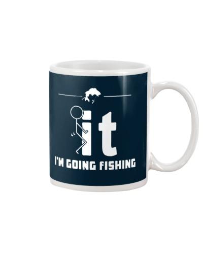 Funny Fishing Shirt - I'm Going Fishing
