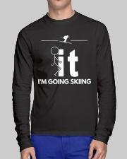 Funny Skiing Shirt - I'm Going Skiing Long Sleeve Tee lifestyle-unisex-longsleeve-front-1