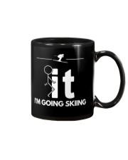 Funny Skiing Shirt - I'm Going Skiing Mug thumbnail