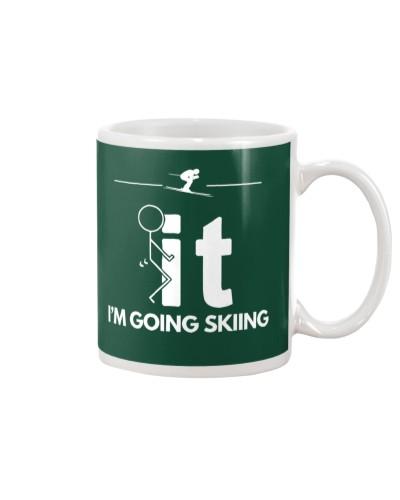 Funny Skiing Shirt - I'm Going Skiing