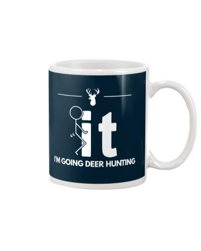 Funny Deer Hunting Shirt - I'm Going Deer Hunting