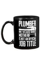 Plumber  Mug back