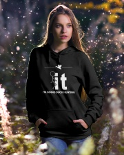 Funny Duck Hunting Shirt - I'm Going Duck Hunting Hooded Sweatshirt lifestyle-holiday-hoodie-front-5