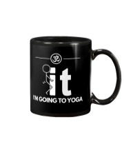 Funny Yoga Shirt - I'm Going Yoga Mug tile