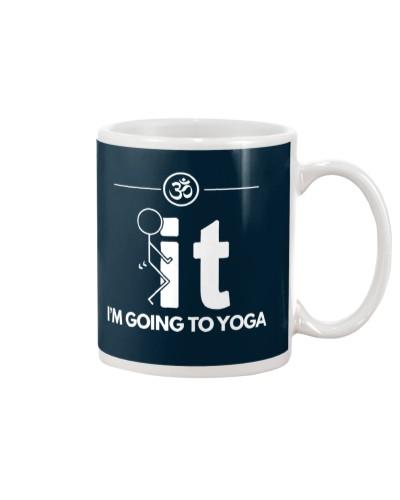 Funny Yoga Shirt - I'm Going Yoga