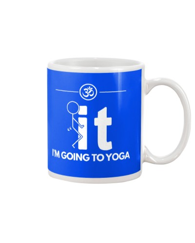 Funny Yoga Shirt - I'm Going Yoga