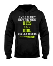 Softball Hooded Sweatshirt thumbnail