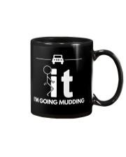 Funny Duck Mudding Shirt - I'm Going Mudding Mug thumbnail