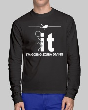 Funny Scuba Diving Shirt - I'm Going Scuba Diving Long Sleeve Tee lifestyle-unisex-longsleeve-front-1