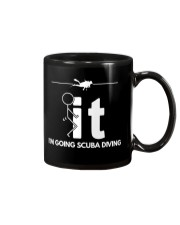 Funny Scuba Diving Shirt - I'm Going Scuba Diving Mug thumbnail