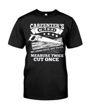Carpenter  Classic T-Shirt front