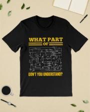 Electrician  Classic T-Shirt lifestyle-mens-crewneck-front-19