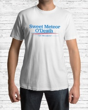 Sweet Meteor O'Death for President Premium Fit Mens Tee lifestyle-mens-crewneck-front-1