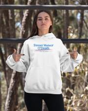 Sweet Meteor O'Death for President Hooded Sweatshirt apparel-hooded-sweatshirt-lifestyle-05