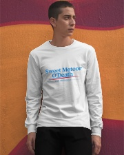 Sweet Meteor O'Death for President Long Sleeve Tee apparel-long-sleeve-tee-lifestyle-04
