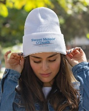 Sweet Meteor O'Death for President Knit Beanie garment-embroidery-beanie-lifestyle-07