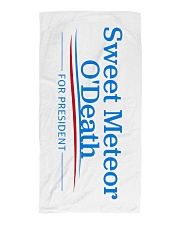 Sweet Meteor O'Death for President Beach Towel front