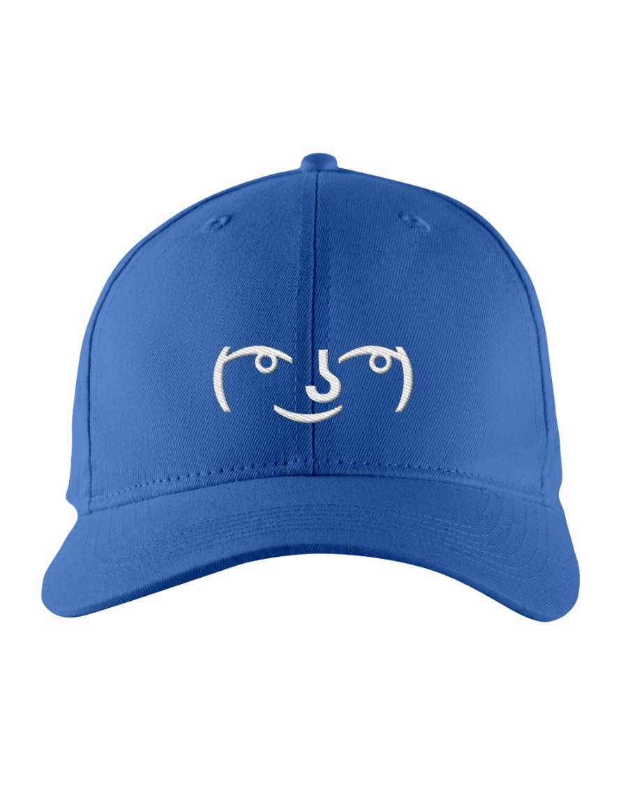 Lenny Face Embroidered Hat