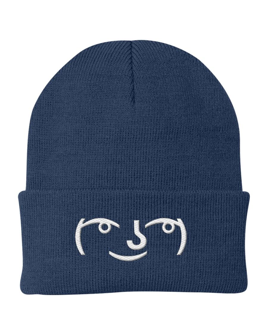 Lenny Face Knit Beanie