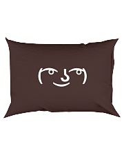 Lenny Face Rectangular Pillowcase back