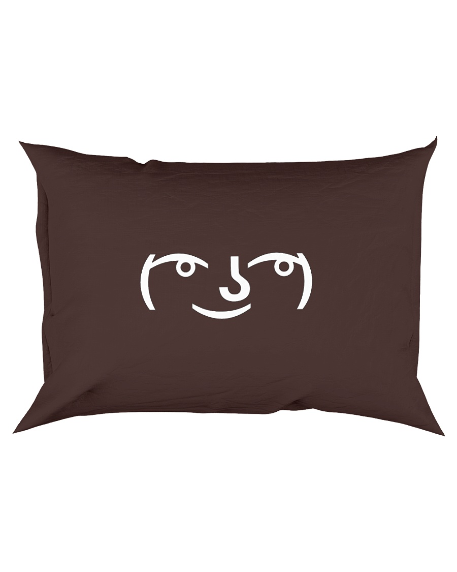 Lenny Face Rectangular Pillowcase