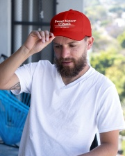 Sweet Meteor O'Death for President Embroidered Hat garment-embroidery-hat-lifestyle-05