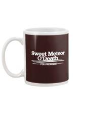 Sweet Meteor O'Death for President Mug back