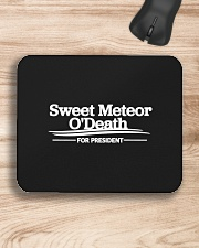 Sweet Meteor O'Death for President Mousepad aos-mousepad-front-lifestyle-1