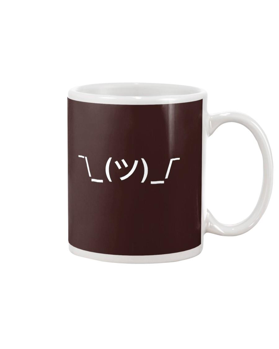 Shrugging Emoticon Mug