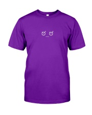 Disapproving Emoticon Classic T-Shirt front