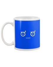 Disapproving Emoticon Mug back