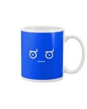 Disapproving Emoticon Mug front