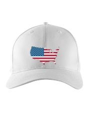 Independence Day Embroidered Hat front
