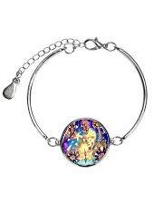Oddball Holiday Metallic Circle Bracelet thumbnail
