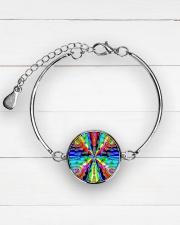 Vibe Zero Metallic Circle Bracelet aos-bracelet-metal-front-lifestyle-2