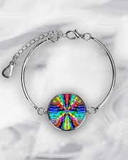 Vibe Zero Metallic Circle Bracelet aos-bracelet-metal-front-lifestyle-8