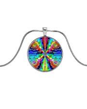 Vibe Zero Metallic Circle Necklace thumbnail