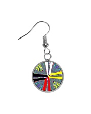 Calling the Directions Circle Earrings thumbnail