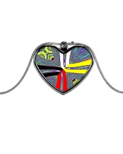Calling the Directions Metallic Heart Necklace thumbnail
