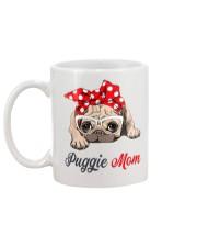 Puggie Mom Mug back