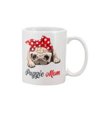 Puggie Mom Mug front
