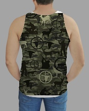 Wild lifestyle - Hunting All-over Unisex Tank aos-tank-unisex-lifestyle01-back