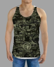 Wild lifestyle - Hunting All-over Unisex Tank aos-tank-unisex-lifestyle01-front