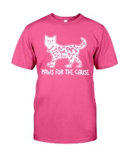 Paws For The Cause Classic T-Shirt front
