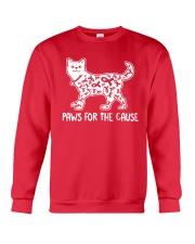Paws For The Cause Crewneck Sweatshirt thumbnail
